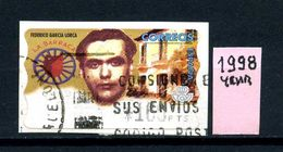SPAGNA - Year 1998 - AUTOMAT STAMP - Usato - Used - Utilisè - Gebraucht. - 1931-Oggi: 2. Rep. - ... Juan Carlos I