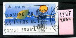 SPAGNA - Year 1997 - AUTOMAT STAMP - Usato - Used - Utilisè - Gebraucht. - 1931-Oggi: 2. Rep. - ... Juan Carlos I