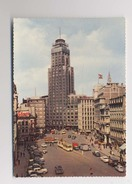 Antwerpen - Anvers - LE GRATTE CIEL D'ANVERS - Place De Meir Et Torengebouw - Voitures - Animée - Antwerpen