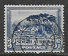 S.Africa VILLIERSDORP 9 I 41, Postmark On 3d Single - Zuid-Afrika (...-1961)