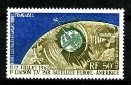 TAAF  PA 6 - 50F  Télécommunications Spatiales - Neuf N** - Très Beau - Airmail