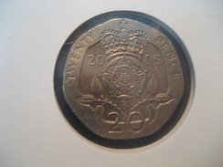 20 Pence 2005 ENGLAND Great Britain QE II Coin - 1971-… : Monnaies Décimales