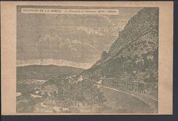 """GRECE - Carte Postale """"Le Chemin De Fer Salonique - Brallo - Athènes"""" - B/TB - - Griekenland"""