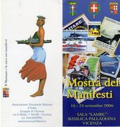Vicenza 2006 - Basilica Palladiana - Il Marinaio E La Nave Nei Manifesti - - Guerra