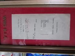 WW1 US List Of Personl Effects Of  KIA  SoldierCertifictae - 1914-18