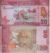 (B0334) SRI LANKA, 2015. 20 Rupees. P-123. UNC - Sri Lanka