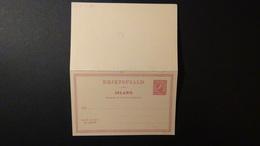 Island - 1907 - Mi:P 48 F+A* - Postal Stationery  - Look Scan - Entiers Postaux