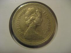 1 Pound 1983 ENGLAND Great Britain QE II Coin - 1971-… : Monnaies Décimales