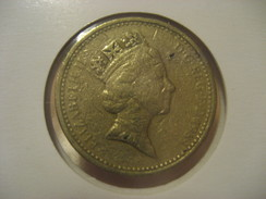 1 Pound 1985 ENGLAND Great Britain QE II Coin - 1971-… : Monnaies Décimales