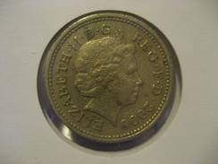1 Pound 2000 ENGLAND Great Britain QE II Coin - 1971-… : Monnaies Décimales