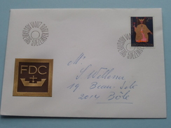 VADUZ Ausgabetag 5 Dezember 1968 / Stamp ( Geadresseerde Omslag ) ! - FDC