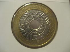 2 Pounds 2015 ENGLAND Great Britain QE II Good Condition Bimetallic Coin - 1971-… : Monnaies Décimales