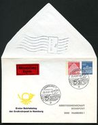 Bund PU47 B2/001b Privat-Umschlag GROSSROHRPOST HAMBURG Sost. 1967  NGK 30,00 € - Post