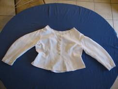 14 - Veste En Tissu Damassé - Vintage Clothes & Linen
