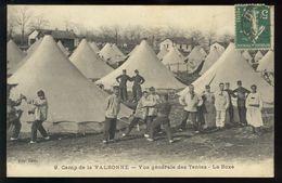 Camp De La Valbonne - Vue Générale Des Tentes - La Boxe - Unclassified
