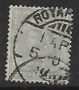 India, 1900, Queen Victoria, 3 Pies, Used - India (...-1947)