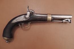 PISTOLET De MARINE Mle 1837 1er Type, Manufacture Royale De CHATELLERAULT - Armes Neutralisées