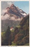 Braunwald - Kirchli Mit Ortstock (2022) * 24. 7. 1926 - GL Glarus