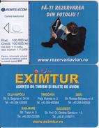 ROMANIA - TUI/'Eximtur, Exp.date 01/11/04, Dummy Telecard(no Chip, No CN) - Romania