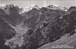 Braunwald - Blick Auf Linthal Und Tödikette (1174) - GL Glarus