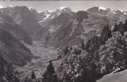 Braunwald - Glarus - Blick Nach Linthal Und Tödikette (1952/2) * 5. VII. 1957 - GL Glarus