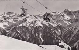 Braunwald - Sesselbahn Gumen (1888/2) * 17. 3. 1954 - GL Glarus