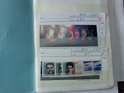 Petit Album De Timbres Neufs De Russie . - Collections (en Albums)