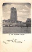 La Tour De St-Nicolas Furnes   Veurne Toren Van De Kerk En Markt      I 2459 - Veurne