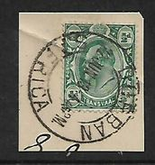 S.Africa, Inter-Provincial,  1/2d Of Transvaal Used, DURBAN 22 JN 13 C.d.s. - Zuid-Afrika (...-1961)