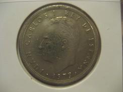 50 Pesetas 1975 (76) SPAIN Juan Carlos I Coin - 50 Pesetas