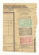 472A-België Spoorweg   NORD BELGE Chemin De Fer Stempel FRAMERIES 7 Op Fragment - Chemins De Fer