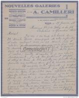 96 1691 ALGERIE BONE 1938 NOUVELLES GALERIES Confection AUGUSTE CAMILLERI Rue Neuve Saint Augustin - Unclassified