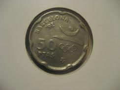 50 Pesetas 1992 Barcelona Olympic Games Olympics SPAIN Juan Carlos I Coin - 50 Pesetas