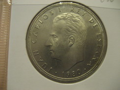 100 Pesetas 1980 (80) Football World Championship 1982 SPAIN Juan Carlos I Good Condition Coin - [ 5] 1949-… : Royaume