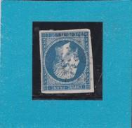 N° 14 B   PC  766    LE CHATEAU D'OLORON  /  CHARENTE INFERIEURE  - REF 9916 + Variété  Ind 4 - 1853-1860 Napoléon III