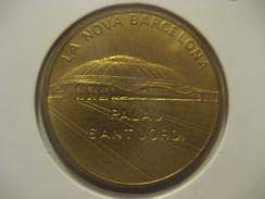 La Nova Barcelona PALAU SANT JORDI Stadium Olympic Games Olympics 1992 SPAIN Exfime Medal Token - Espagne