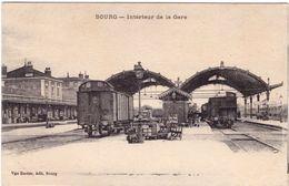 Bourg  Intérieur De La Gare - Autres