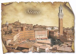 CARTOLINA - POSTCARD - SIENA - Siena
