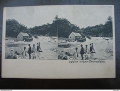 Croatia Ogulin Stereo Card Muhlen Water Mill Cca. 1900. - Croatie