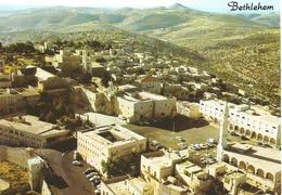 BETHLEHEM,Vue à Vol D'oiseau - En Façade La Cour De L'Eglise De La Nativité. (scan Verso) - Palestine