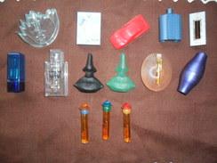 LOT DE  14 ANCIENNES TIGETTES DE LUXE  /  PARFUM / PLEIN / UNIQUEMENT POUR COLLECTION - Echantillons (tubes Sur Carte)