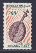 MADAGASCAR AERIENS N°   97 ** MNH Neuf Sans Charnière, TB (D4033) Instrument De Musique, Violon Bara - Madagascar (1960-...)