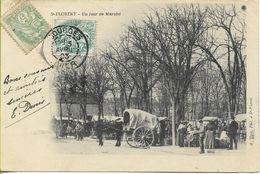 SAINT FLORENT  Un Jour De Marché - Saint-Florent-sur-Cher