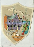 84307 ARGENTINA RIO NEGRO BARILOCHE HOTEL HOSTERIA EL JABALI LUGGAGE NO POSTAL POSTCARD - Argentina