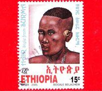 ETIOPIA - Usato - 2005 - Pettinatura - Hair Stijle From Surma - 15 - Etiopia