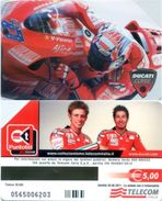 Telefonkarte Italien - Sport - Motorsport - Werbung - Ducati Corse - Sport