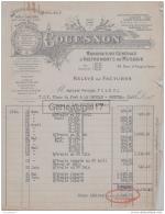 75 16 238 PARIS 1929 Manuf Instruments Musique COUESNON Usine CHATEAU THIERRY GARENNES MANTES MIRECOURT COUTURE BOUSSEY - Francia