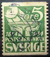 SUEDE            N° 228c                OBLITERE - Schweden