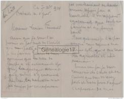96 2137 BELGIQUE BELGIUM BATAILLE DE L YSER  1914 Lettre D Un Poilu Mr LEON KREMER  10 Eme De Ligne ARMEE BELGE - 1914-18