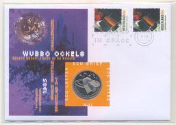 Nem041c RUIMTEVAART WUBBO OCKELS SPACE SHUTTLE CHALLENGER SPACELAB D-1 NEDERLAND 1999 ECU BRIEF NO. 41 NUMISLETTER - FDC & Commémoratifs